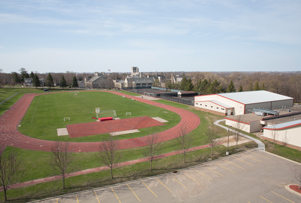 Rental of the many sports facilities and fields at Shattuck-St. Mary's is available