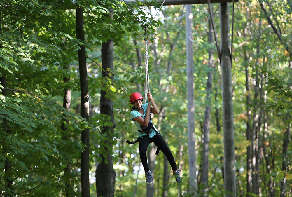 High ropes course located on the SSM campus