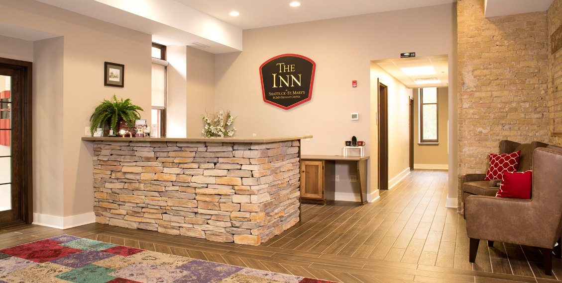 WELCOME TO THE INN at SHATTUCK-ST. MARY'S